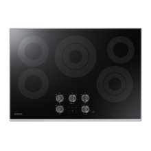 """NZ30K6330RS Electric Cooktop with 6/9"""" 3.3 kW Rapid Boil Burner, 9.5 kW"""