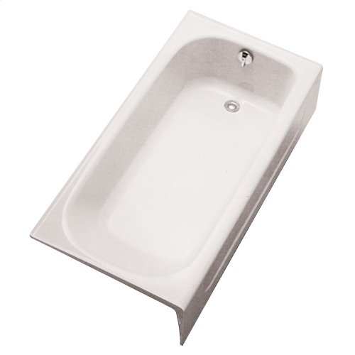 Enameled Cast Iron Bathtub - Cotton