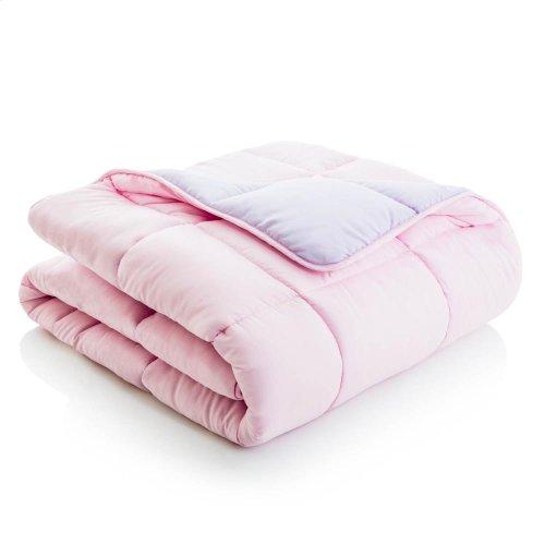Reversible Bed in a Bag - Split Queen Lilac