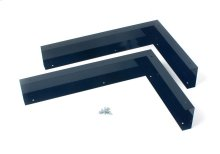 Microwave Hood Filler Kit - Black