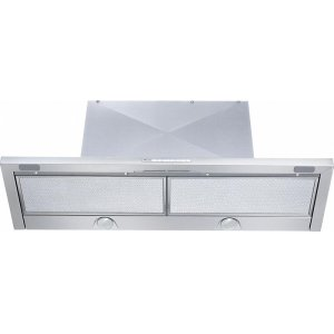 MieleDA 3496 Built-in ventilation hood with energy-efficient LED lighting and backlit controls for easy use.