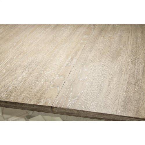 Myra - Table Pedestal - Natural/paperwhite Finish