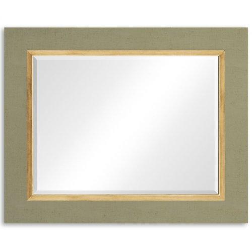 """Lichen & Gold """"Homespun"""" Mirror"""