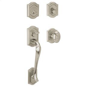 Satin Nickel with Lifetime Finish Bethpage Sectional Trim