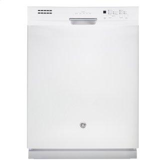 "GE 24"" Built-In Stainless Steel Tall Tub Dishwasher White GBF630SGLWW"