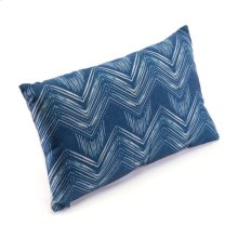 Ikat Pillow 3 Blue & Natural