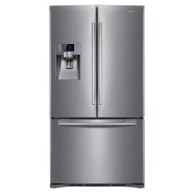 23 cu. ft. French Door Refrigerator (This is a Stock Photo, actual unit (s) appearance may contain cosmetic blemishes.  Please call store if you would like actual pictures).  This unit carries our 6 month warranty, MANUFACTURER WARRANTY and REBATE NOT VALID with this item. ISI 33041