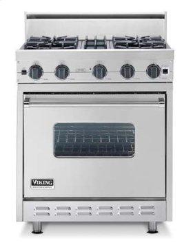 "Cotton White 30"" Sealed Burner Range - VGIC (30"" wide range with four burners, single oven)"