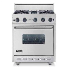 "Graphite Gray 30"" Sealed Burner Range - VGIC (30"" wide range with four burners, single oven)"