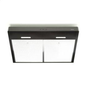 Tenaya 30-inch 300 CFM Black Under-Cabinet Range Hood with LED light