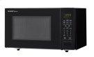 1.1 cu. ft. 1000W Sharp Countertop Black Microwave (SMC1131CB) Product Image
