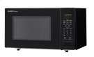 1.1 cu. ft. 1000W Sharp Countertop Black Microwave (SMC1131CB) Product Image