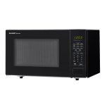 Sharp1.1 cu. ft. 1000W Sharp Countertop Black Microwave (SMC1131CB)