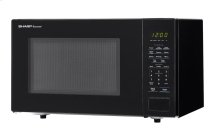 1.1 cu. ft. 1000W Sharp Countertop Black Microwave (SMC1131CB)