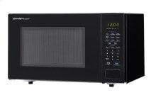1.1 cu. ft. 1000W Sharp Countertop Black Microwave (SMC1131CB)