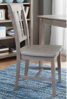 San Remo Chair Taupe Gray Product Image