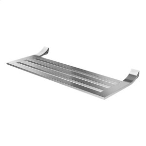 "Satin Nickel 24"" Hotel Shelf"