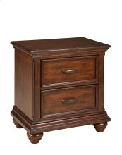 Kingston 2-Drawer Nightstand