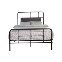 Emerald Home Fairfield Metal Bed Woodland Brown B202-08hbfbrdkbrn