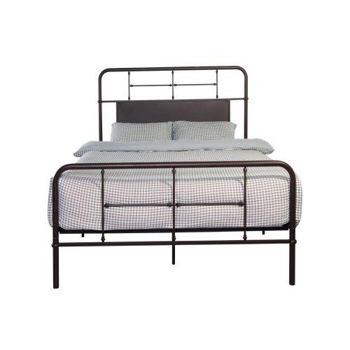 Emerald Home Fairfield Metal Bed Woodland Brown B202-10hbfbrdkbrn