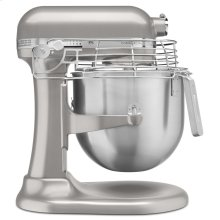 NSF Certified® Commercial Series 8 Quart Bowl-Lift Stand Mixer with Stainless Steel Bowl Guard - Nickel Pearl