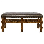 Tooled Leather Bench Product Image