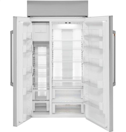 "Café 48"" Built-In Side-by-Side Refrigerator"