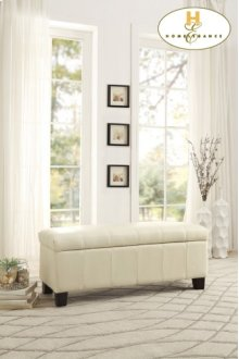 Lift Top Storage Bench, Taupe