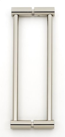 Contemporary I Back-to-Back Pull G715-8 - Polished Nickel