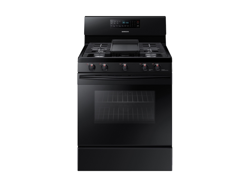 Samsung5.8 Cu. Ft. Freestanding Gas Range With Convection In Black