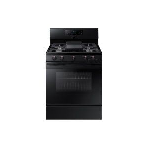 Samsung Appliances5.8 cu. ft. Freestanding Gas Range with Convection in Black