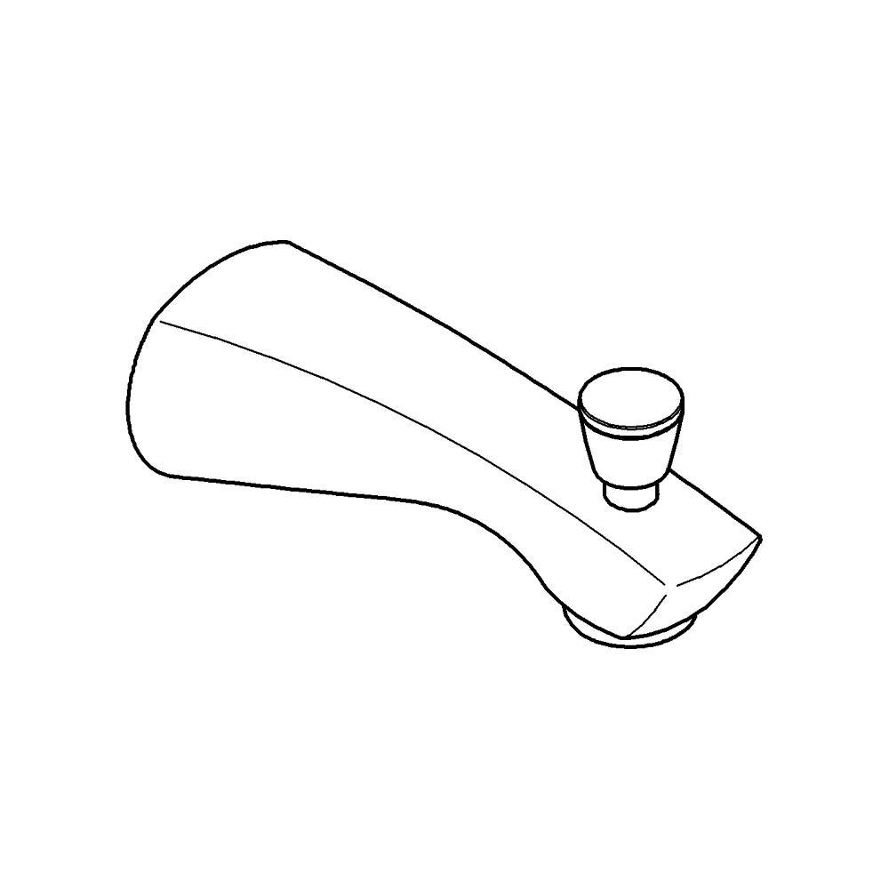 Arden Tub Spout with Diverter