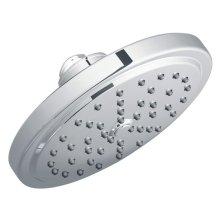"Moen chrome one-function 7"" diameter spray head eco-performance rainshower"