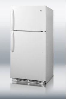 Full-sized frost-free refrigerator-freezer with deluxe interior