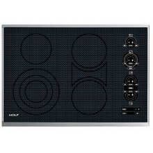 "FLOOR MODEL 30"" Electric Cooktop - Framed"