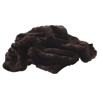 Throw Mink Brown Product Image