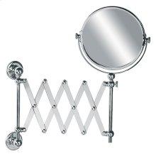 Edwardian extendable shaving mirror