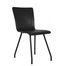 Chair 41x45x88 cm FLORES matt black