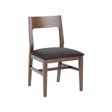 Melvin Dining Chair Grey - Brown