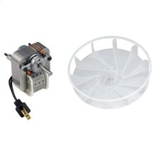 Motor/Wheel, for (694 and 695 ver. A). 70 CFM