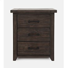 Madison County Power Nightstand - Barnwood