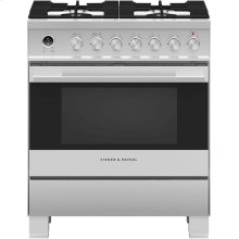 "Dual Fuel Range 30"", Self-Cleaning"