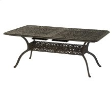 "42""x76"" Rectangular Extension Table (leaf Stored)"