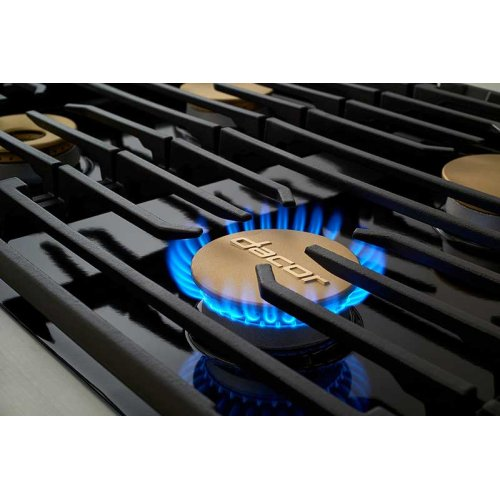 "48"" Rangetop, Stainless Steel, Natural Gas"