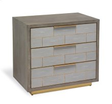 Fabienne 3 Drawer Bedside Chest