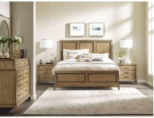 Panel Cal King Bed - Complete
