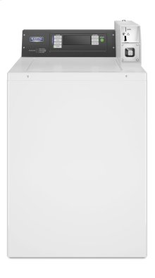 Commercial Top-Load Washer, Coin Drop-Ready