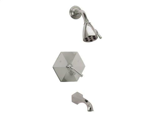 Pressure Balance Tub and Shower Set Lever Handle - Polished Brass