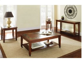 "Davenport Slate Sofa Table 56""x19""x30"""