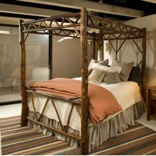 422 Blue Mountain Canopy Bed
